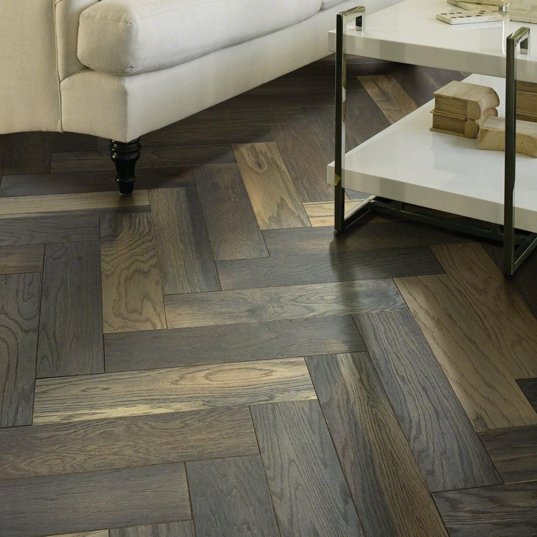 Old World Herringbone Hardwood flooring | Budget Flooring, Inc.