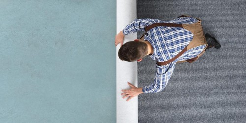 Carpet installation | Budget Flooring, Inc.