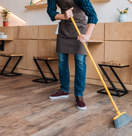 Hardwood cleaning | Budget Flooring, Inc.