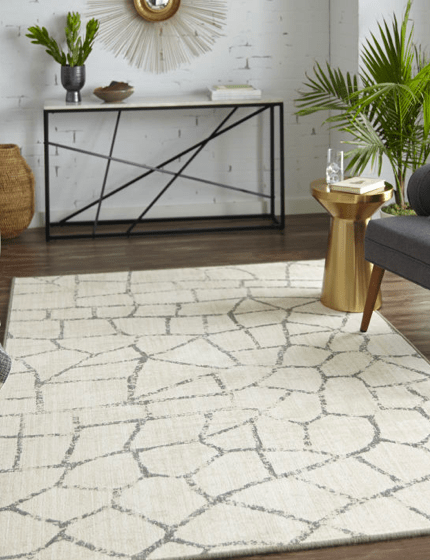 Stabilizes to the rugs   Budget Flooring, Inc.
